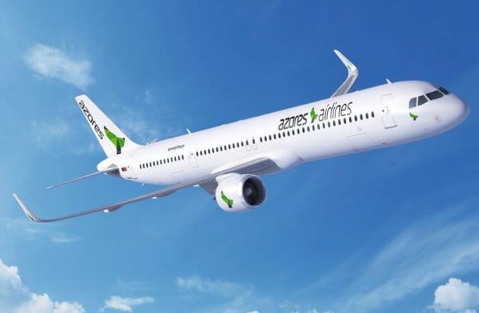 Airbus A321LR авиакомпании Azores Airlines