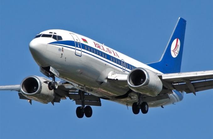 B737-500 авиакомпании Belavia