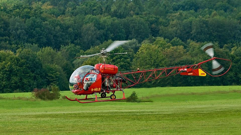 Страницы истории авиации: Bell 47 – первый гражданский вертолет