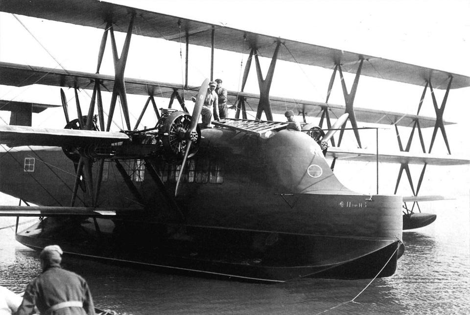 Летающая лодка Besson H-5