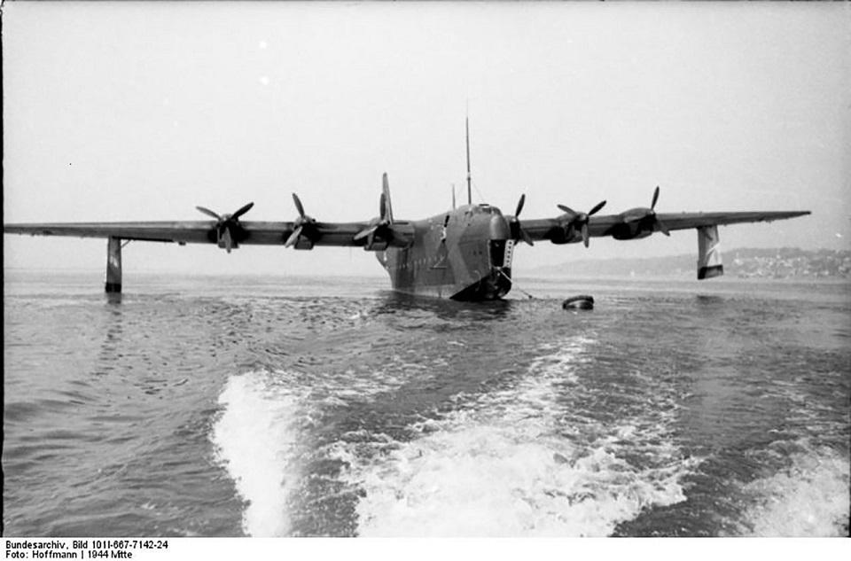Страницы истории авиации: летающий колосс – Blohm & Voss Bv 238