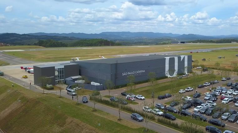 São Paulo Catarina Aeroporto Executivo Internacional