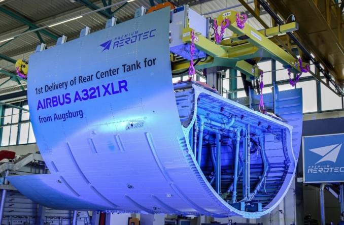 Задний центральный бак для A321XLR