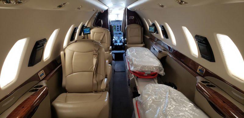 Встроенное медицинское оборудование Cessna Citation Sovereign