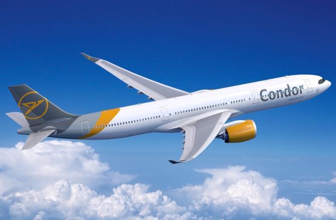 Airbus A330neo в ливрее Condor