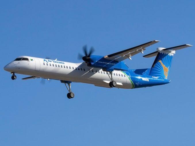 Dash 8-400 авиакомпании Air Tanzania