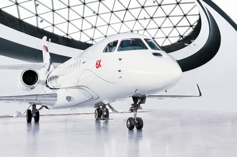 Бизнес-джет Dassault Falcon 6X получил престижную награду за дизайн