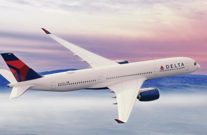 A350 авиакомпании Delta