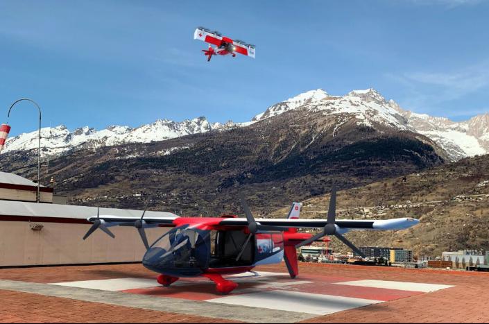 eVTOL Aero3