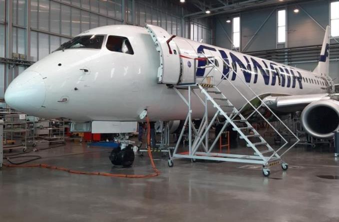 Embraer E190 авиакомпании Finnair