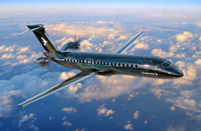 Новая концецтя турботропа Embraer