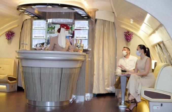Кают-компания Emirates  на борту Airbus A380