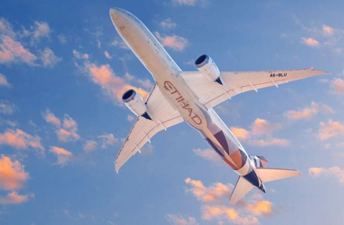 Dreamliner авиакомпании Etihad