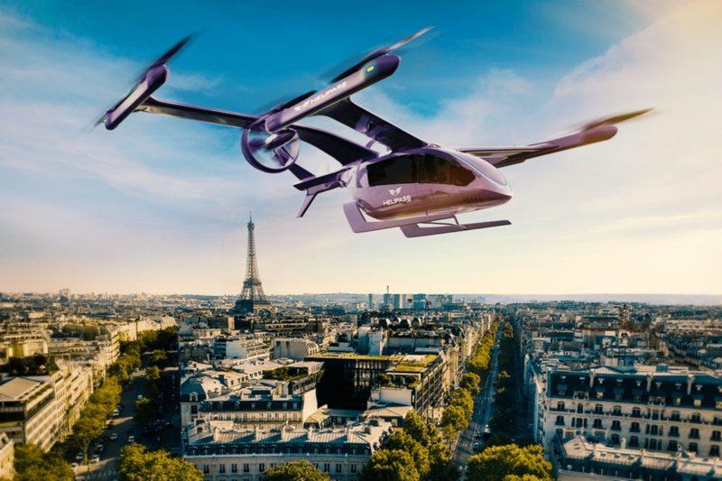 Запуск услуги аэротакси eVTols от Eve запланирован на 2026 год