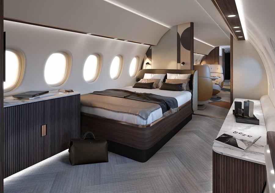 Спальная каюта Falcon 10X