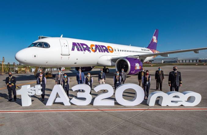 Первый Airbus A320neo для Air Cairo