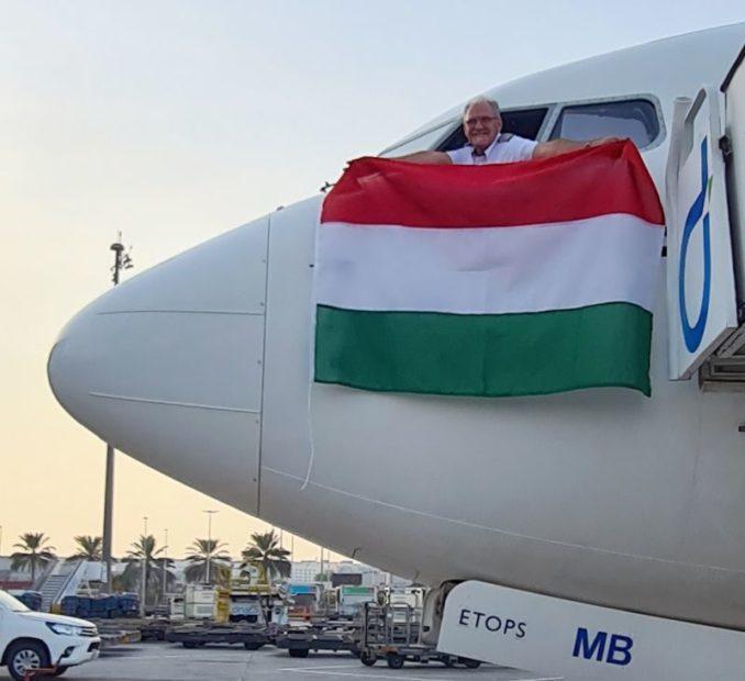 первый рейс flydubai в Будапешт