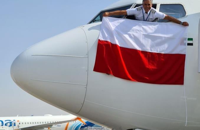 Первый рейс flydubai в Варшаву