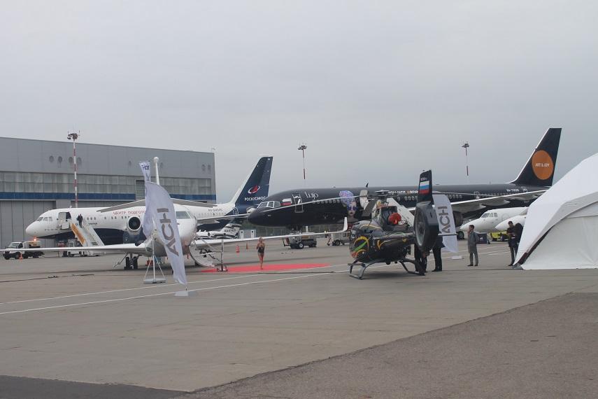 Выставка деловой авиации RUBAE-2021