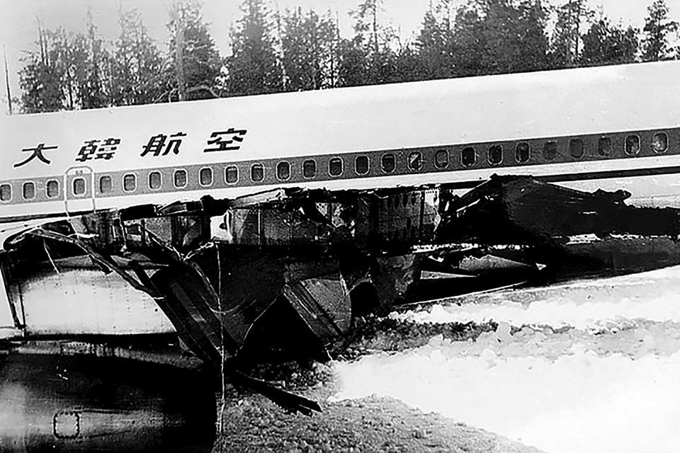 Boeing 707 авиакомпании Korean Air Lines