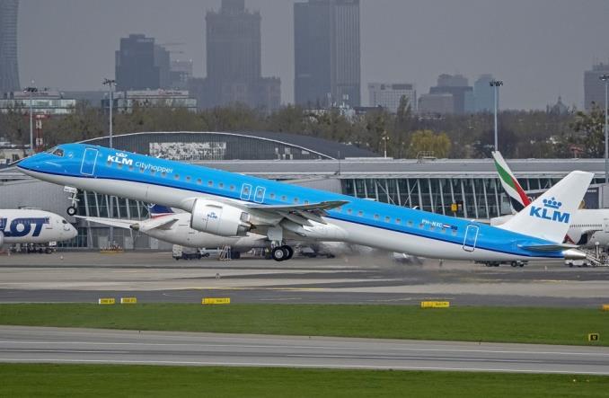 Embraer 195-E2 для KLM Cityhopper