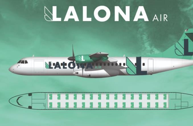 ATR 72-500 авиакомпании Lalona Air
