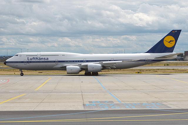 Boeing_747-830 авиакомпании Lufthansa