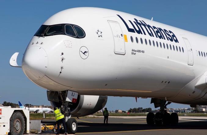 Летающая лаборатория Lufthansa A350 CARIBIC