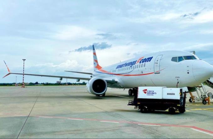 Boeing 737 MAX 8  авиакомпании Smartwings