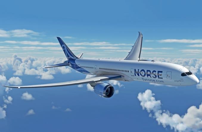 Dreamliner  авиакомпании Norse