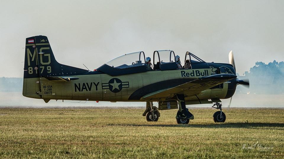 North American T-28 Trojan  Red Bull
