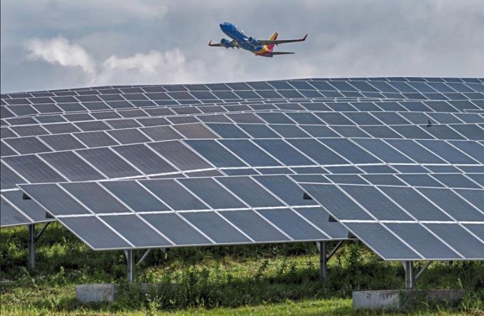 Солнечная электростанция в аэропорту Питтсбурга
