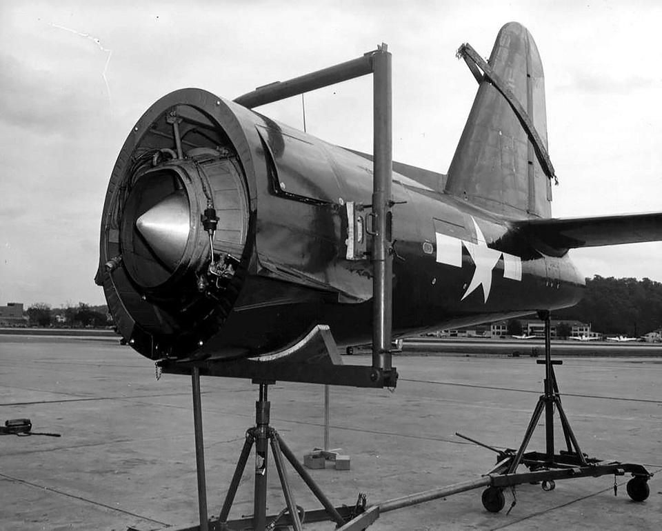 Реактивная силовая установка самолета Ryan FR Fireball