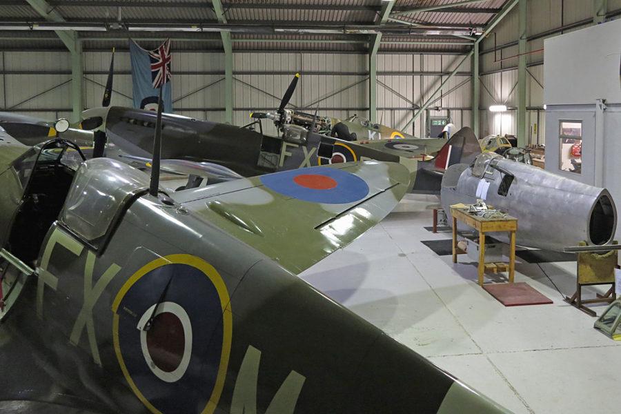 Ангар компании Biggin Hill Heritage Hangar
