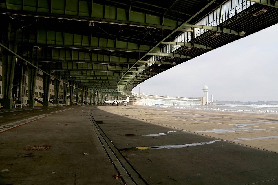 Берлинский аэропорт Темпельхоф