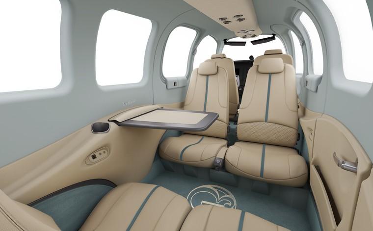 Салон юбилейного Beechcraft Bonanza G36