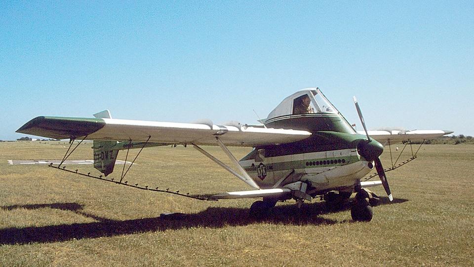Страницы истории авиации:  Transavia PL-12 Airtruk – самолет постапокалипсиса