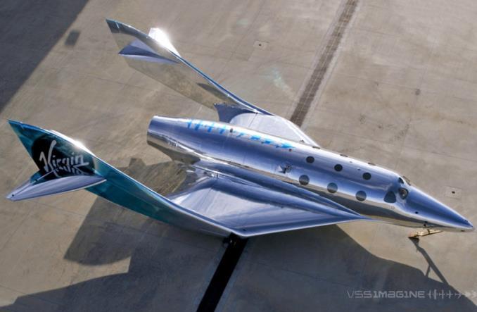 Суборбитальный космический корабль Virgin Galactic