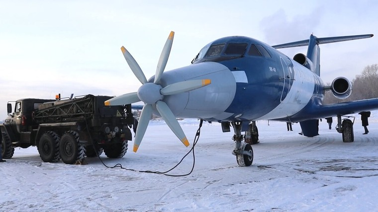 Российский самолет с гибридно-электрической силовой установкой